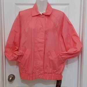 VNT Koret size S Coral Windbreaker jacket